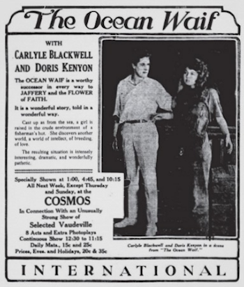 The Ocean Waif ad